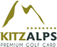 Kitz Alps Premium Golf Card